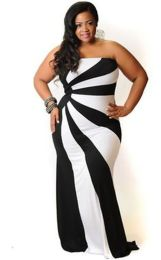 Amazing plus size striped dress outfits ideas 15