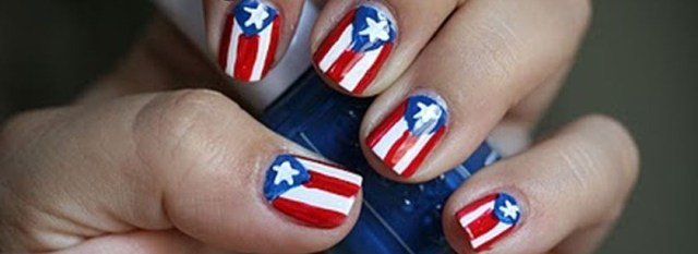 Awesome american flag nail art featured