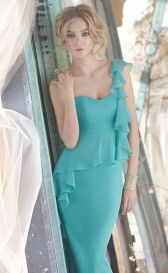 Awesome elegance turquoise bridesmaid dress 1 1