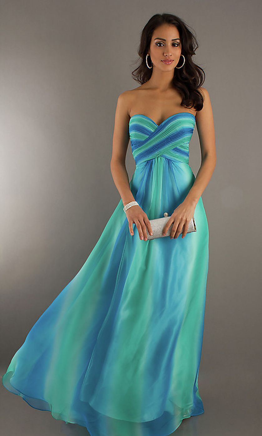 Awesome elegance turquoise bridesmaid dress 28