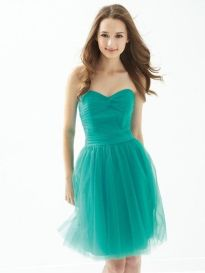 Awesome elegance turquoise bridesmaid dress 2 1
