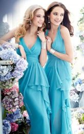 Awesome elegance turquoise bridesmaid dress 4 1