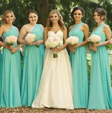 Awesome elegance turquoise bridesmaid dress 51