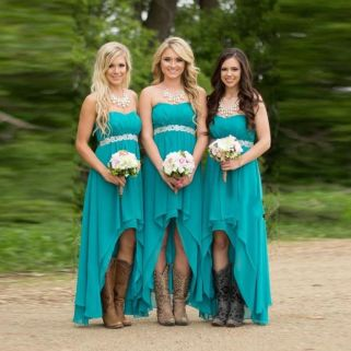 Awesome elegance turquoise bridesmaid dress 53