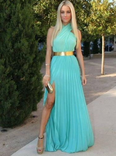 Awesome elegance turquoise bridesmaid dress 59