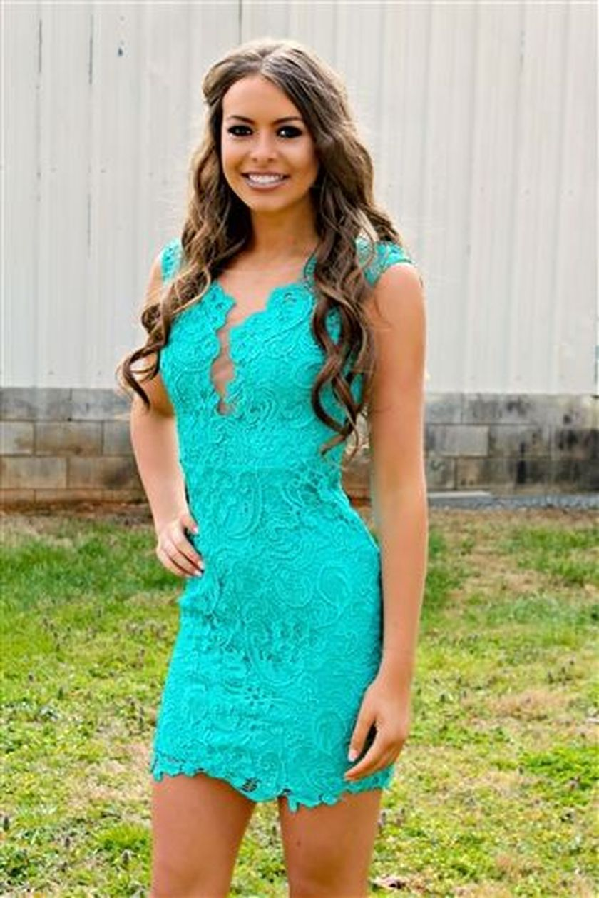 Awesome elegance turquoise bridesmaid dress 5 1
