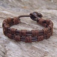 Awesome handmade bracelet for men 21