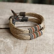 Awesome handmade bracelet for men 23