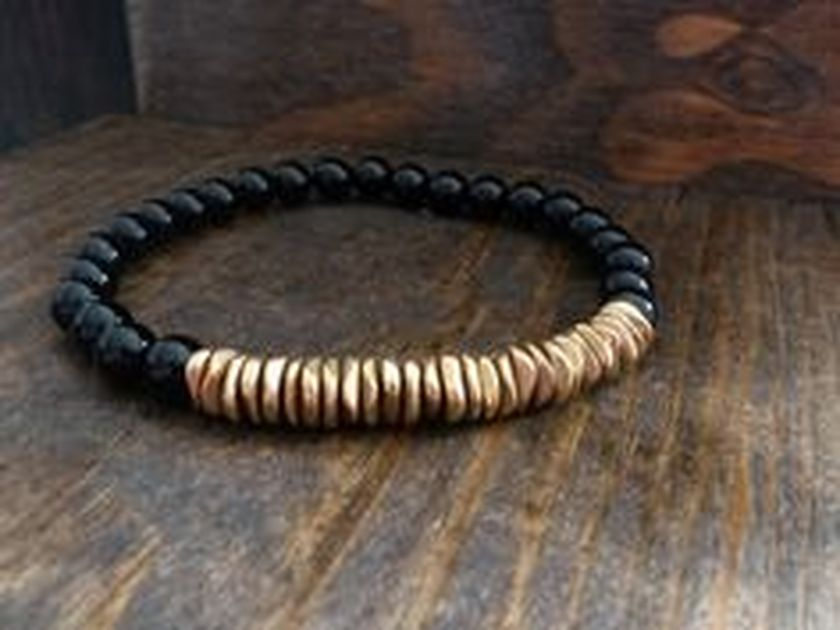 Awesome handmade bracelet for men 58