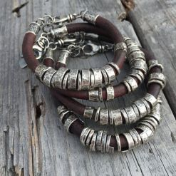 Awesome handmade bracelet for men 68