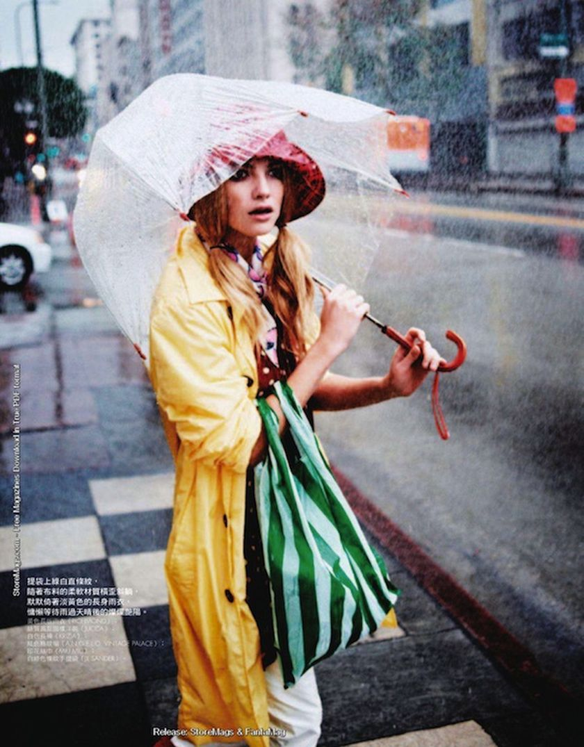 Awesome rainy day outfit style 1
