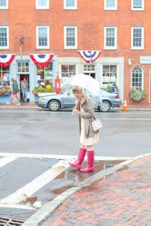 Awesome rainy day outfit style 12