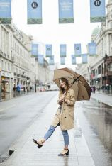 Awesome rainy day outfit style 36