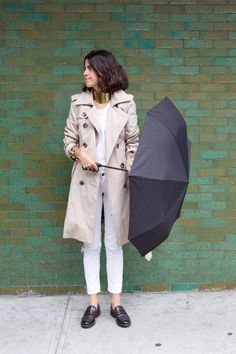 Awesome rainy day outfit style 5