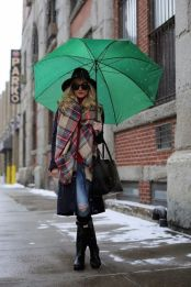 Awesome rainy day outfit style 8