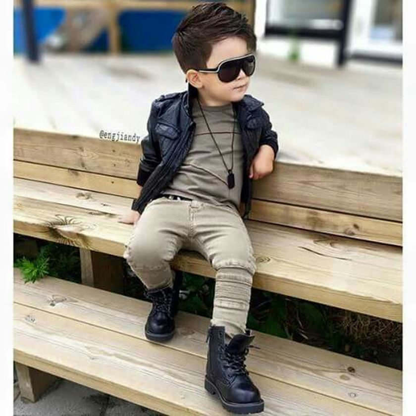 Cool boys kids fashions outfit style 72