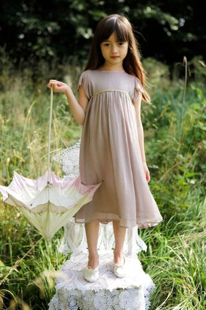 Cute bridesmaid dresses for little girls ideas 27