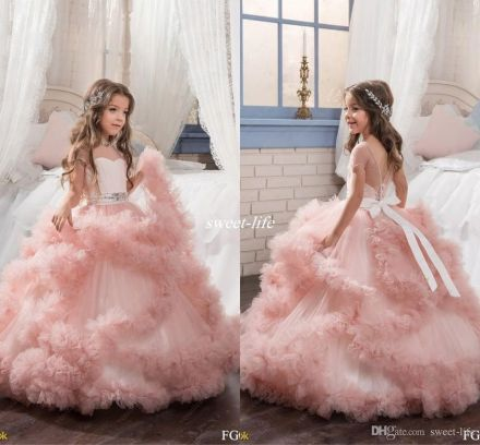 Cute bridesmaid dresses for little girls ideas 48