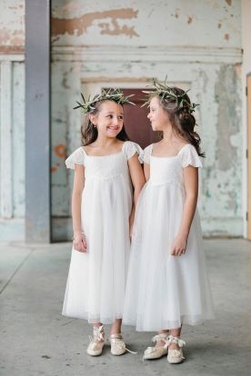 Cute bridesmaid dresses for little girls ideas 58
