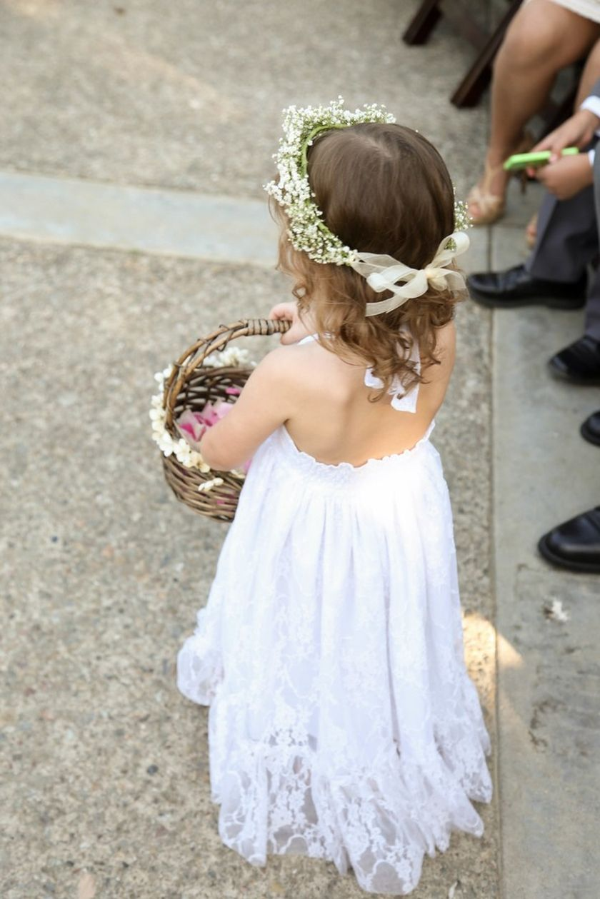 Cute bridesmaid dresses for little girls ideas 78