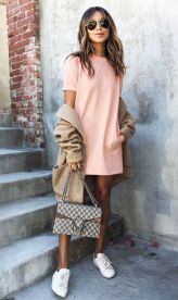 Cute oversized t shirt outfit styles 8