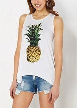 Cute pineapple tank top must you have 12