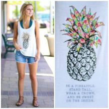 Cute pineapple tank top must you have 14
