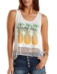 Cute pineapple tank top must you have 32