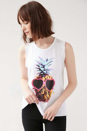 Cute pineapple tank top must you have 35