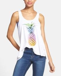 Cute pineapple tank top must you have 40