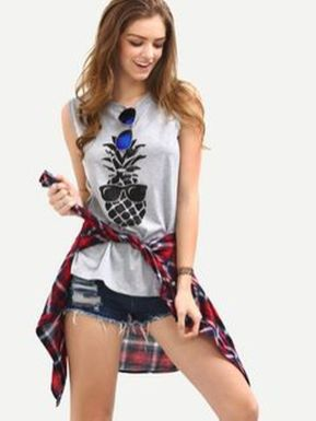 Cute pineapple tank top must you have 54