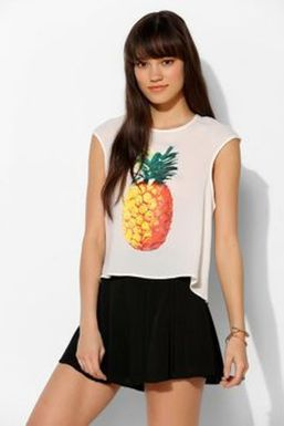 Cute pineapple tank top must you have 55