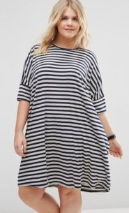 Fabulous plus size striped shirt outfits 20