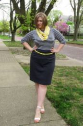 Fabulous plus size striped shirt outfits 28
