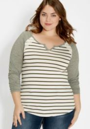 Fabulous plus size striped shirt outfits 9
