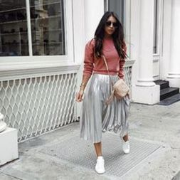 How to wear white sneaker for spring outfits 121