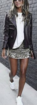 How to wear white sneaker for spring outfits 41