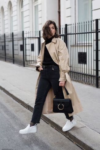 How to wear white sneaker for spring outfits 90
