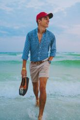 Mens fashions should wear while on the beach 41