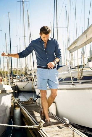 Mens summer casual short outfits worth to copy 15