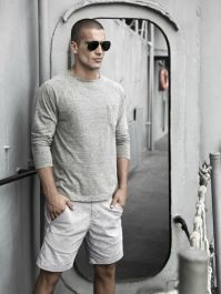 Mens summer casual short outfits worth to copy 31