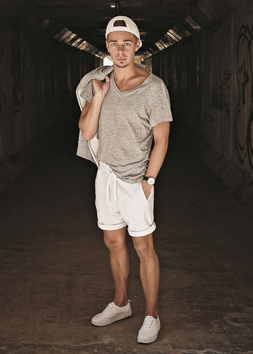 Mens summer casual short outfits worth to copy 38