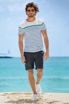 Mens summer casual short outfits worth to copy 40