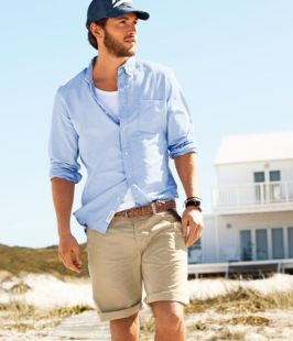 Mens summer casual short outfits worth to copy 43