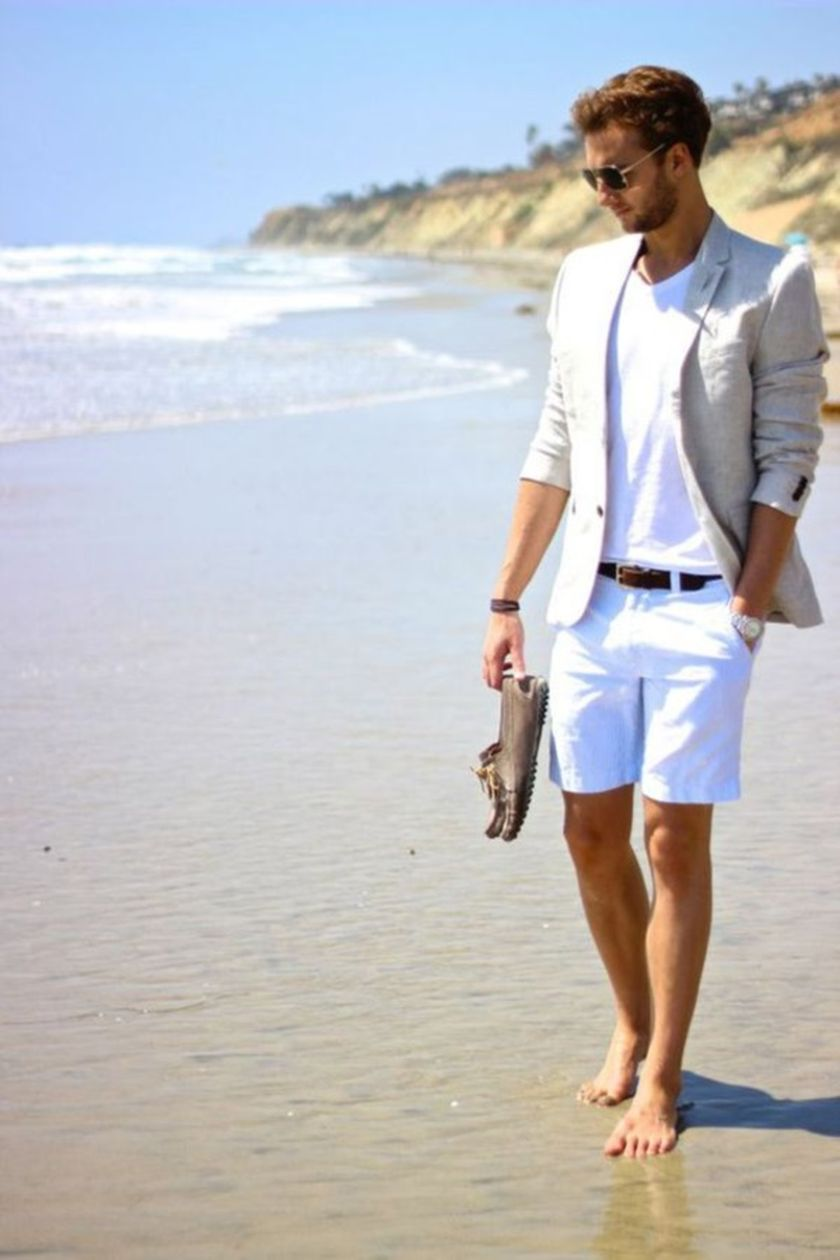 Mens summer casual short outfits worth to copy 59