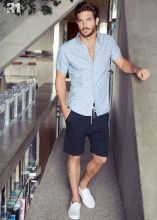 Mens summer casual short outfits worth to copy 64