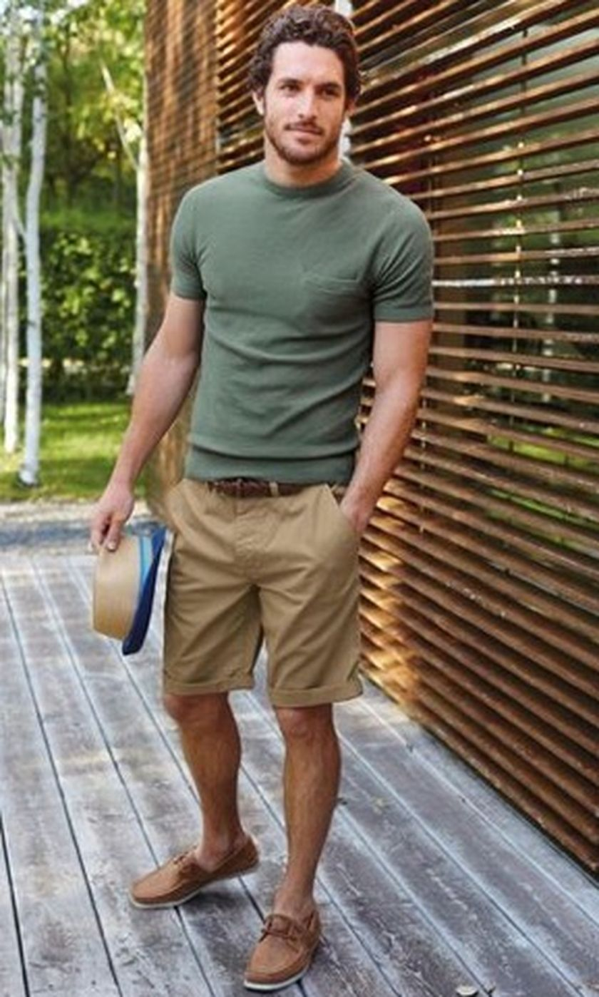 Mens summer casual short outfits worth to copy 65