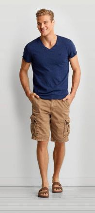 Mens summer casual short outfits worth to copy 7