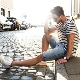 Mens summer casual short outfits worth to copy 74