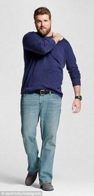 Plus size big and tall mens fashion outfit style ideas 19